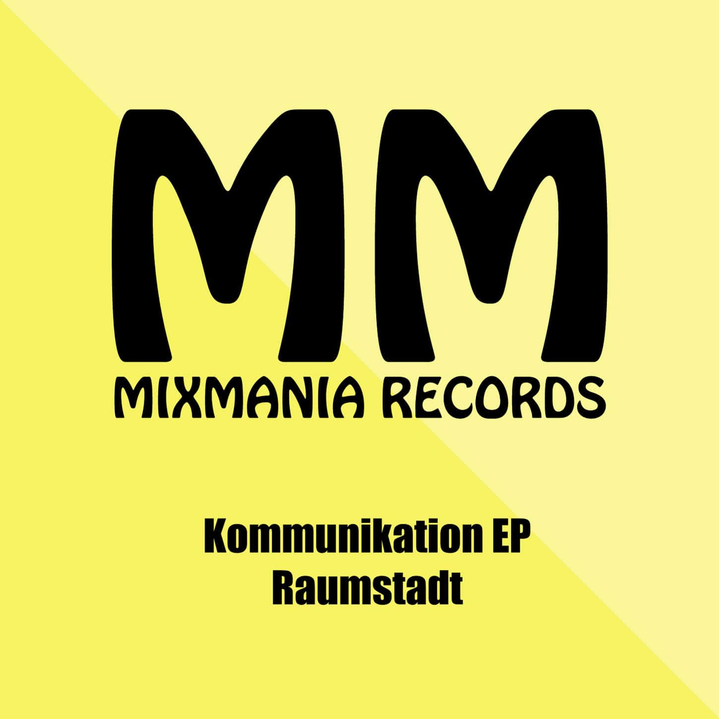 Kommunikation EP By Raumstadt Art Work