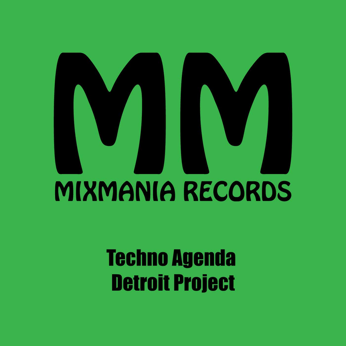 Techno Agenda (Original Mix) By Detroit Project Art Work
