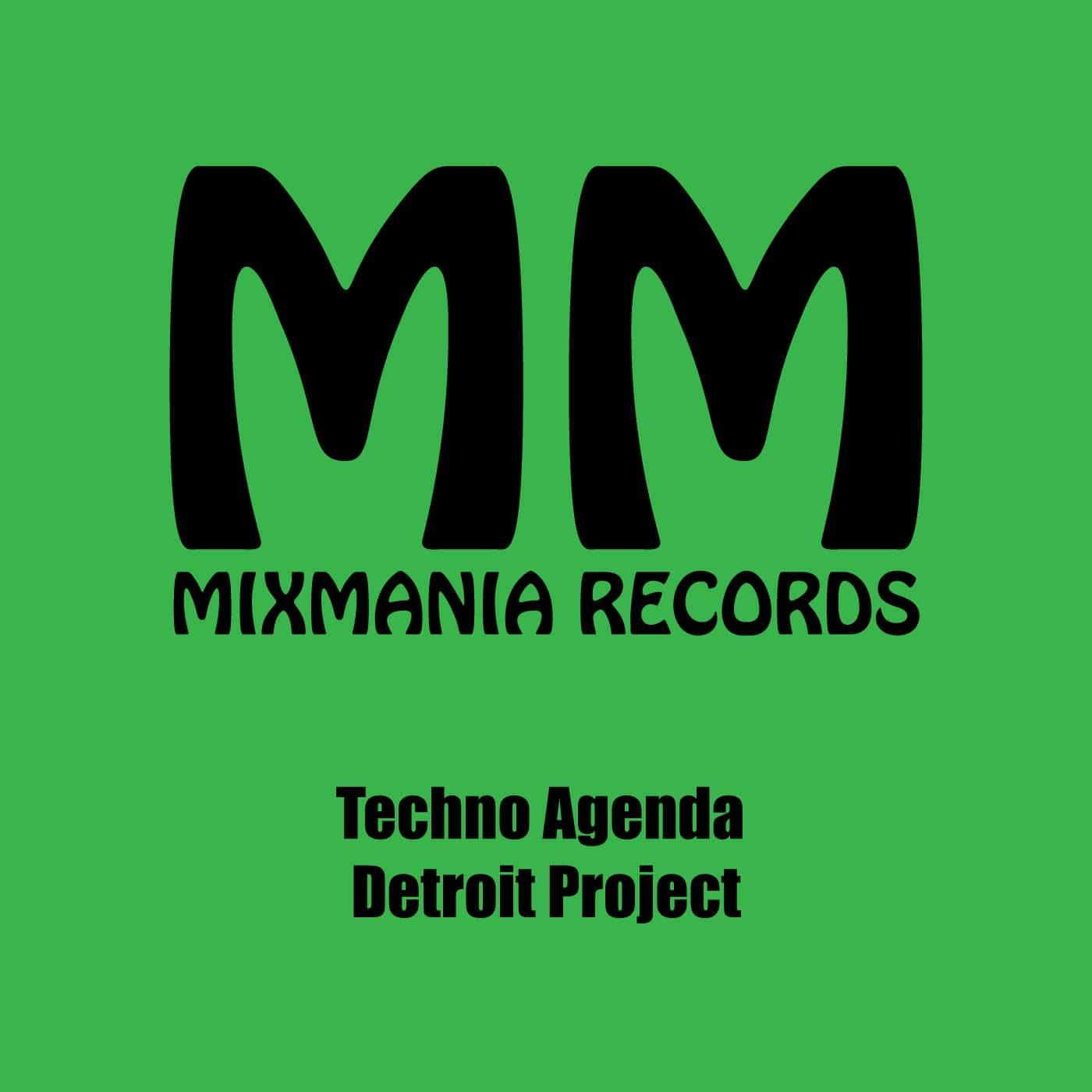 Techno Agenda (Original Mix) By Detroit Project Art Work