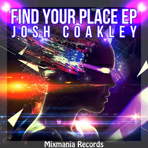 Find Your Place EP By Josh Coakley Art Work