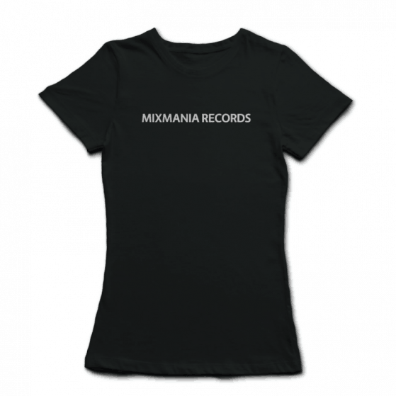 Womans-Mixmania-Records-Brand-Identity-Logo-T-Black