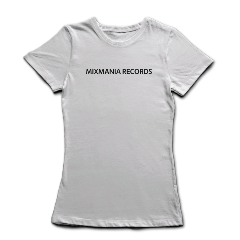 Womans-Mixmania-Records-Brand-Identity-Logo-T-White